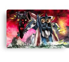 Gundam Fight! Canvas Print