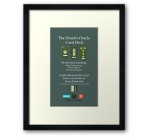 NEW! Druid Oracle Published Deck! Framed Print