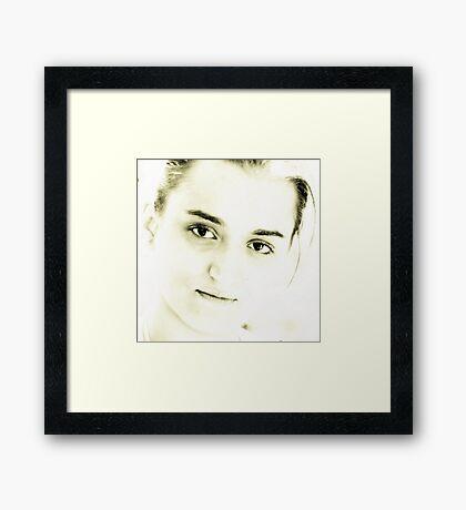 Alina Framed Print