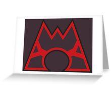 Team Magma Greeting Card