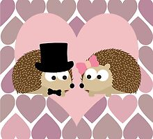 Hedgehogs and Hearts by Eggtooth