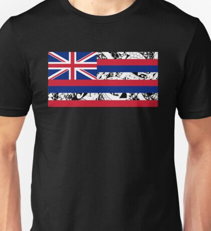 Polynesian Tribal - Flag of Hawaii Unisex T-Shirt