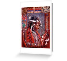 Ole Patei - Keeper of Tradition Greeting Card