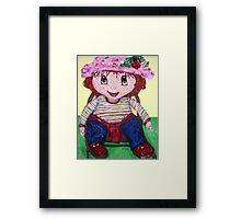 """Strawberry Doll"" Framed Print"