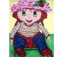 """Strawberry Doll"" Photographic Print"