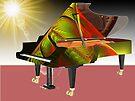 Paint My Piano #2 by barrowda