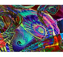 Three Layer abstract 110816 Photographic Print