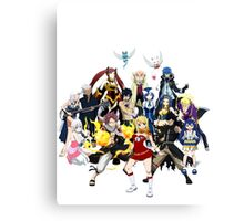 The whole gang Canvas Print