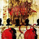 REDFACE (vertical version) by Alvaro Sánchez