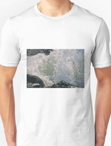 Wave Breaking On Rocks T-Shirt