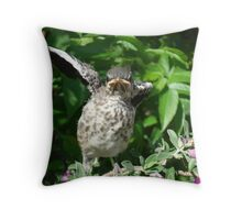 """ I wave my private parts at you"" Throw Pillow"