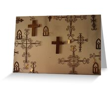 Cross for sale Greeting Card