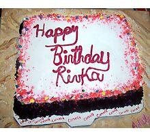"""""""Birthday Cake"""" Photographic Print"""