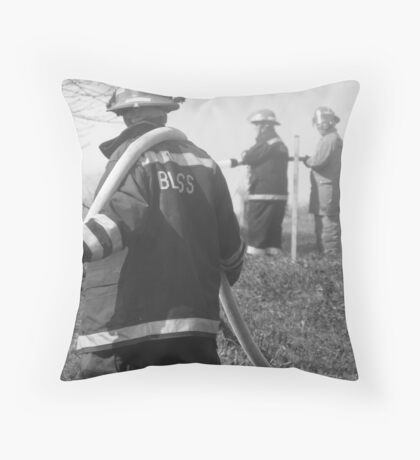 Helping Hand Throw Pillow