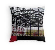 Construction Throw Pillow