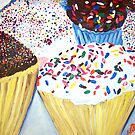 """Cupcakes With Sprinkles"" by Adela Camille Sutton"