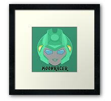 Moonracer Framed Print