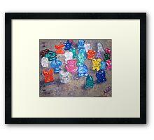 """Crazy Toys"" Framed Print"