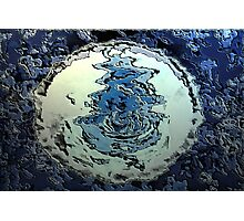 Blue Water Moon from the Altered States Collection Photographic Print