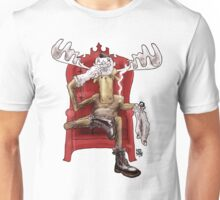 Hip as a Moose Unisex T-Shirt