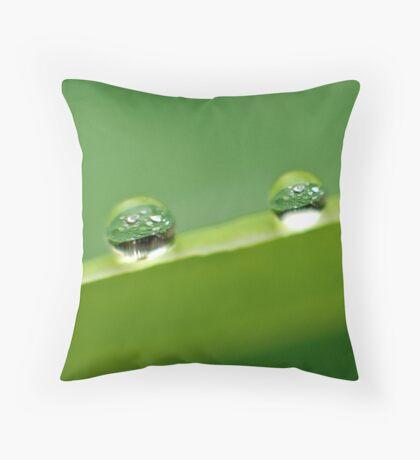 another green world Throw Pillow