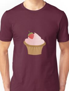 Strawberry Chocolate Cupcake Unisex T-Shirt