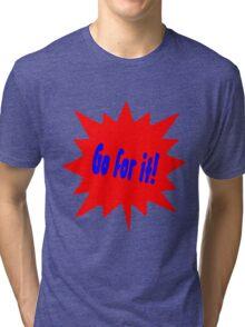 Cartoon Tri-blend T-Shirt