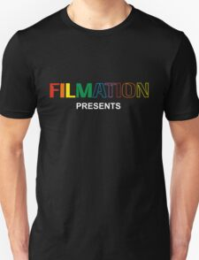 Filmation Presents - Logo - Color Unisex T-Shirt