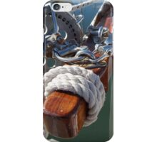 Bowsprit Brightwork iPhone Case/Skin
