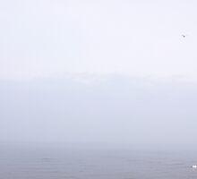 North Sea - In Mist - ( East Coast - England ) by Carl Gaynor