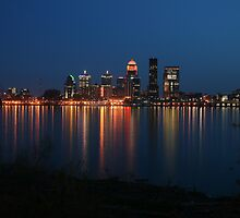 Louisville, Kentucky At Dusk by Danny Close