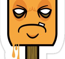Grumpy Orange Creamsicle  Sticker