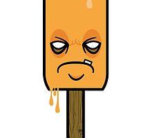 Grumpy Orange Creamsicle  by DroneEmpire