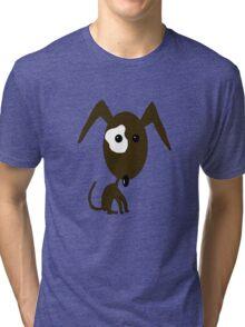 Brown Dog Tri-blend T-Shirt
