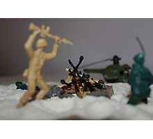 Fire Out!! Photographic Print