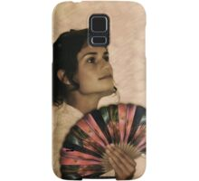 Antique Coppertrees Hand Fan...  Samsung Galaxy Case/Skin