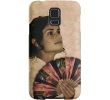 Antique Coppertrees Hand Fan...  Samsung Galaxy Case/Skin