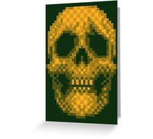 Death Is Apparent Greeting Card