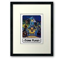 He-Man - Eternia Playset - Trading Card Design Framed Print