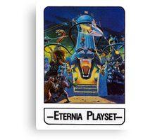 He-Man - Eternia Playset - Trading Card Design Canvas Print