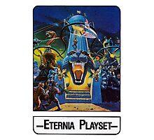 He-Man - Eternia Playset - Trading Card Design Photographic Print