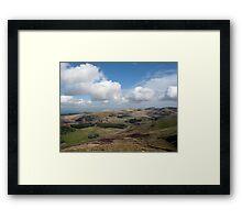 Pentland Hills from the Ridge Framed Print