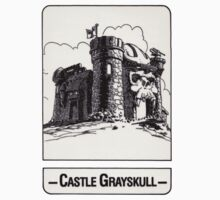 He-Man - Castle Grayskull - Trading Card Design Kids Tee