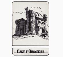 He-Man - Castle Grayskull - Trading Card Design Baby Tee