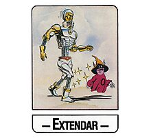 He-Man - Extendar - Trading Card Design Photographic Print