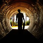 Tunnel Silhouette by Wanagi Zable-Andrews