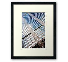 Office Windows Framed Print