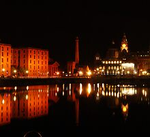 Liverpool Albert Dock by Mike Davitt