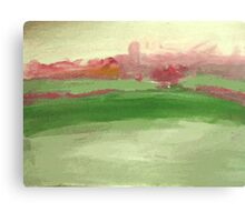 Study of Industrial Landscape Canvas Print