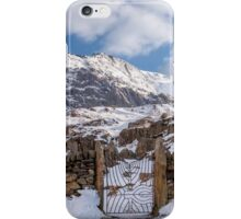 Mountain Gate iPhone Case/Skin